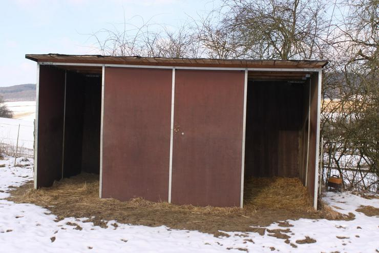 Weidehütte, Unterstand, Pferdeboxen - Unterstände & Zäune - Bild 1