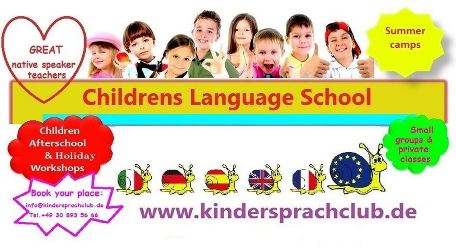 Spielerische Sprachkurse für Kids ab 3 Jahren