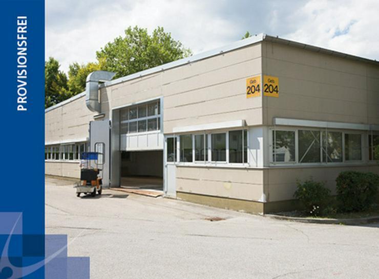 EBENERDIGE LAGERFLÄCHEN MIT BÜROS UND ROLLTOR AB 7,55 EUR/m² - Gewerbeimmobilie mieten - Bild 1
