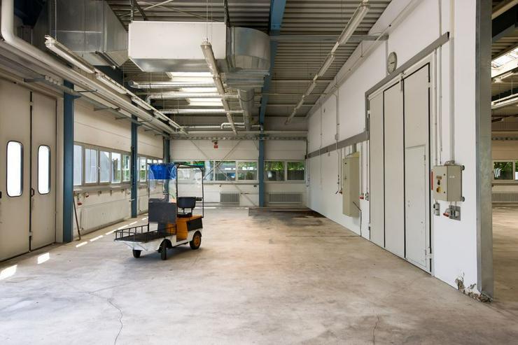 Bild 5: EBENERDIGE LAGERFLÄCHEN MIT BÜROS UND ROLLTOR AB 7,55 EUR/m²