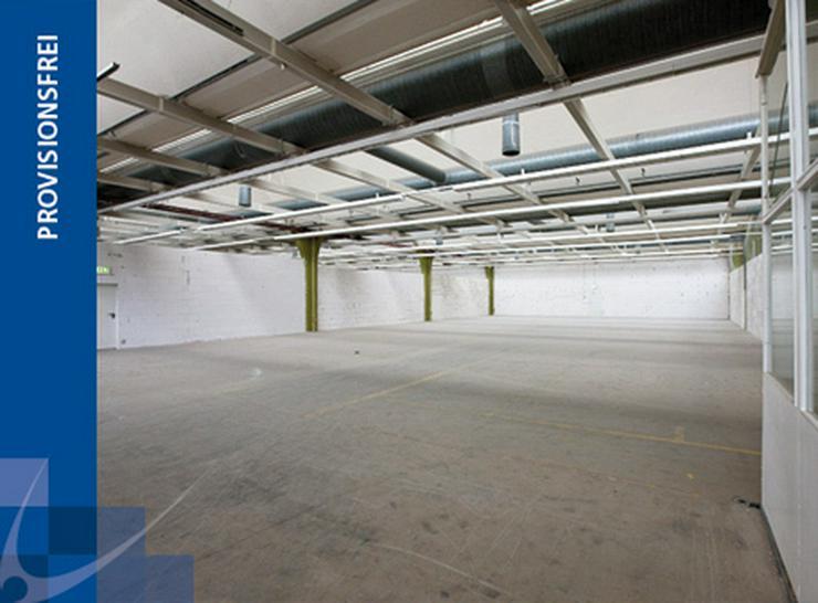 LAGERFLÄCHE MIT RAMPE IM ERDGESCHOSS + HEIZUNG & BELEUCHTUNG AB 4,20 EUR/m² - Gewerbeimmobilie mieten - Bild 1