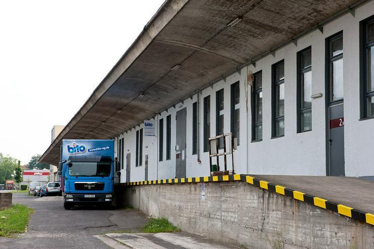 Bild 4: LAGERFLÄCHE MIT RAMPE IM ERDGESCHOSS + HEIZUNG & BELEUCHTUNG AB 4,20 EUR/m²