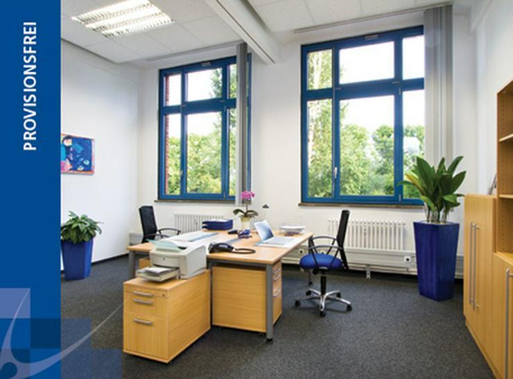 TEILRENOVIERTES BÜRO MIT DREI RAUMZONEN, TEEKÜCHE UND PERSONENAUFZUG AB 7,20 EUR/m² - Gewerbeimmobilie mieten - Bild 1