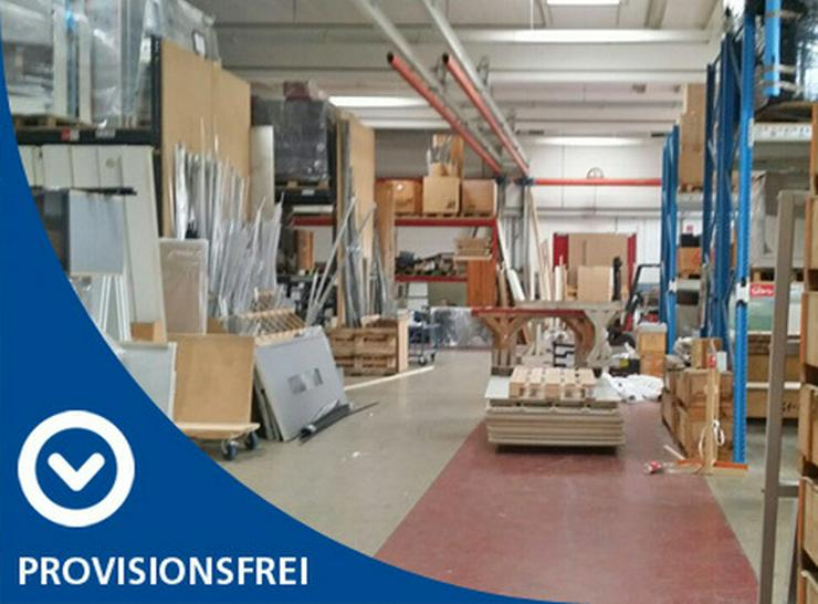 BEHEIZTE LAGER-/PRODUKTIONSHALLE MIT BÜRO, KRAN, 24/7 ZUGANG & SECURITY AB 2,99 EUR/m²