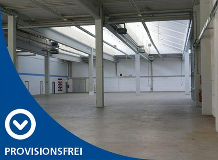 EBENERDIGE LAGERFLÄCHE IN 2 ABSCHNITTE ABGETEILT MIT KRAN & RAMPE AB 1,99 EUR/m² - Gewerbeimmobilie mieten - Bild 1