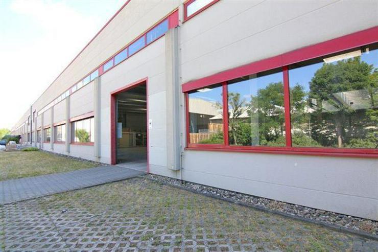 Bild 5: EBENERDIGE LAGERFLÄCHE IN 2 ABSCHNITTE ABGETEILT MIT KRAN & RAMPE AB 1,99 EUR/m²