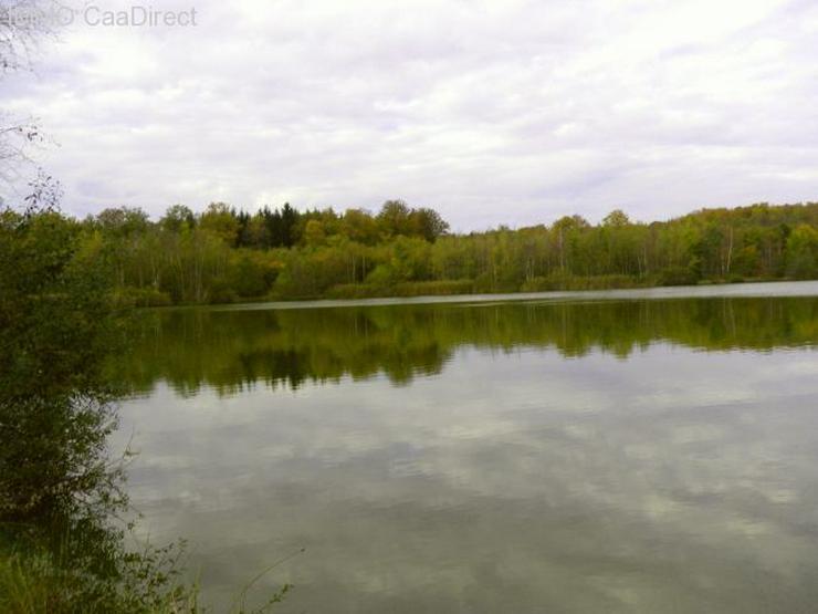 Bild 4: Fischereiparadies mit 10 ha grossem See in den Vogesen