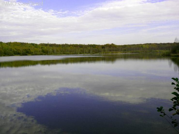 Bild 2: Fischereiparadies mit 10 ha grossem See in den Vogesen
