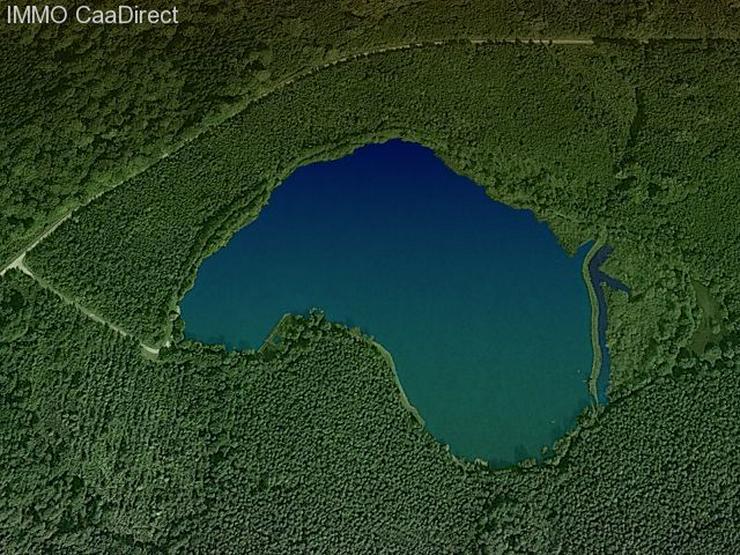 Bild 5: Fischereiparadies mit 10 ha grossem See in den Vogesen
