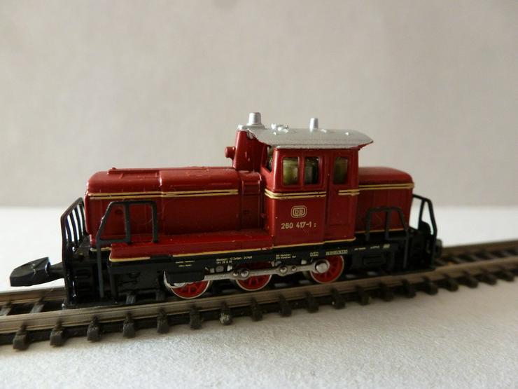 mini-club Spur Z  -Diesellokomotive BR260