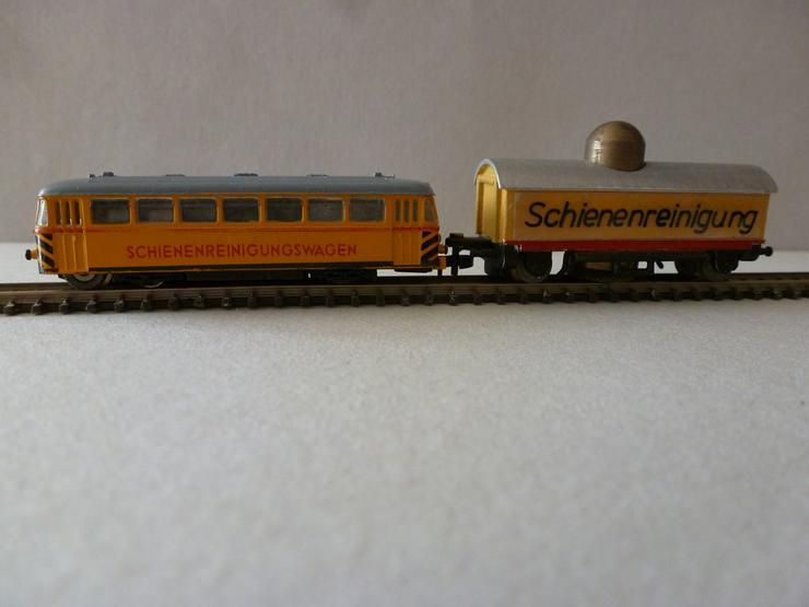mini-club Spur Z Schienenreinigungstriebwagen