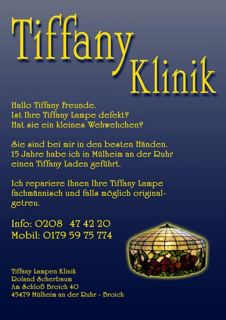 Tiffanylampenreparatur Fusing Essen NRW