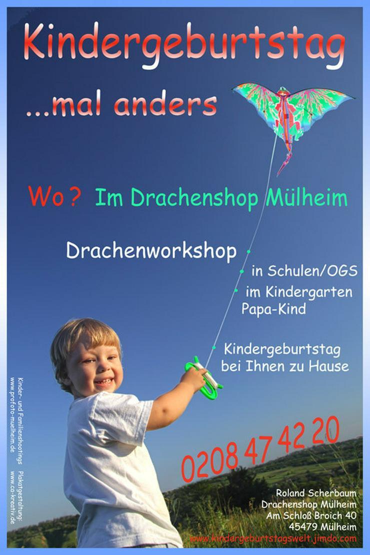 Kindergeburtstag/Drachenbasteln  in Essen NRW