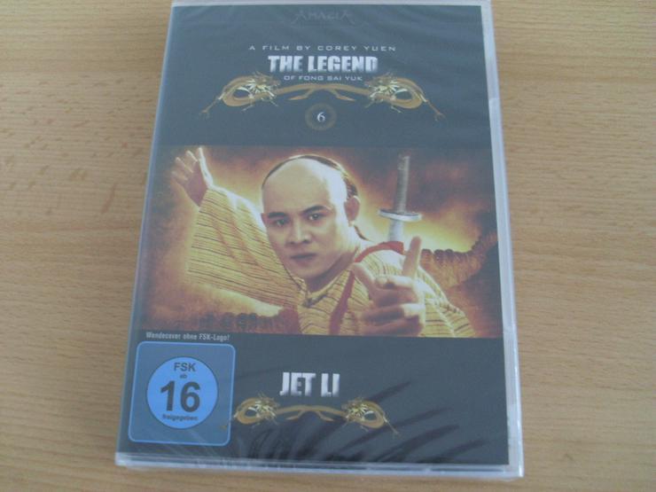 The Legend Jet Li NEU mit Wendecover - DVD & Blu-ray - Bild 1