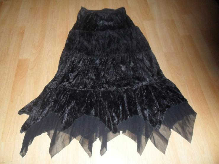Abendrock mit Spitze   schwarz