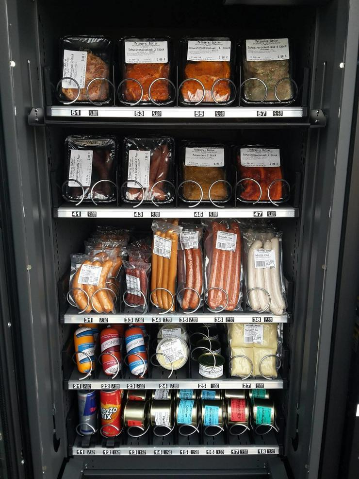 Bild 4: Grillfleischautomat Selbstvermarktung Hofladen