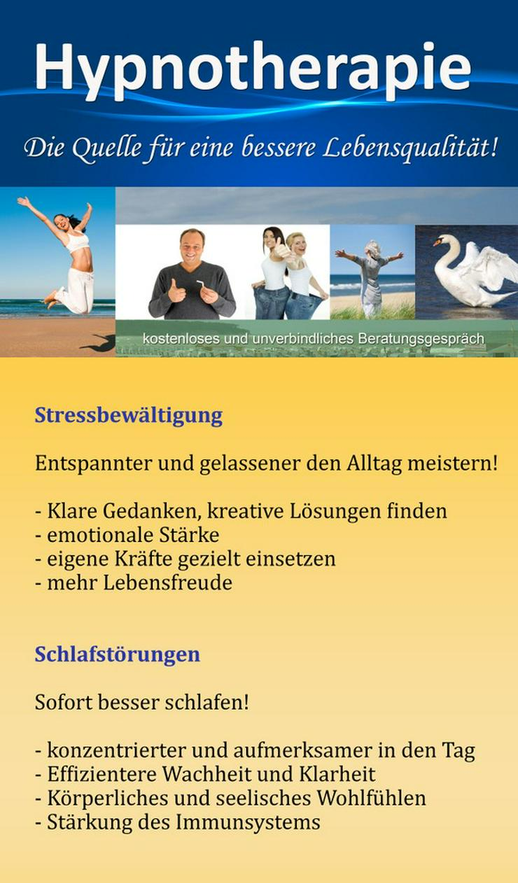 Bild 3: Abnehmen, Raucherentwöhnung und Stressabbau