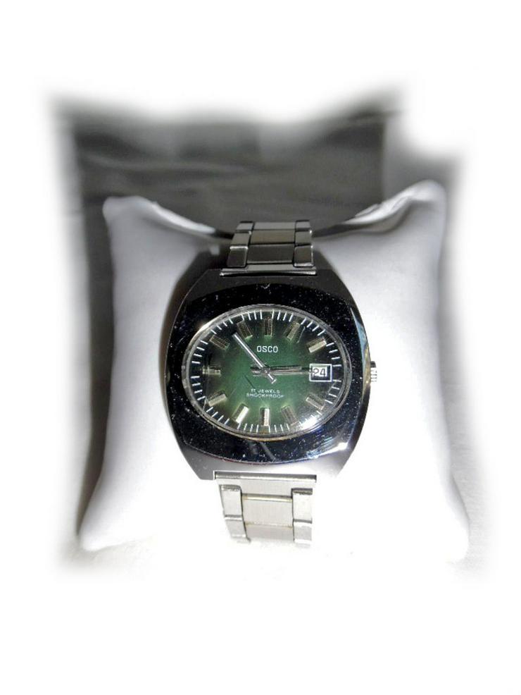 Seltene Armbanduhr von Osco - Herren Armbanduhren - Bild 1