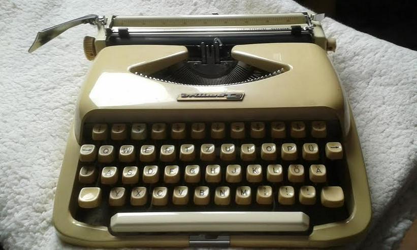 Kofferschreibmaschine  50 er Jahre