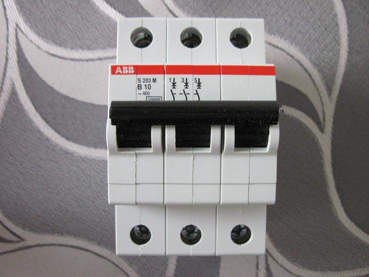 ABB S203-B10 B 10A Leitungsschutzschalter