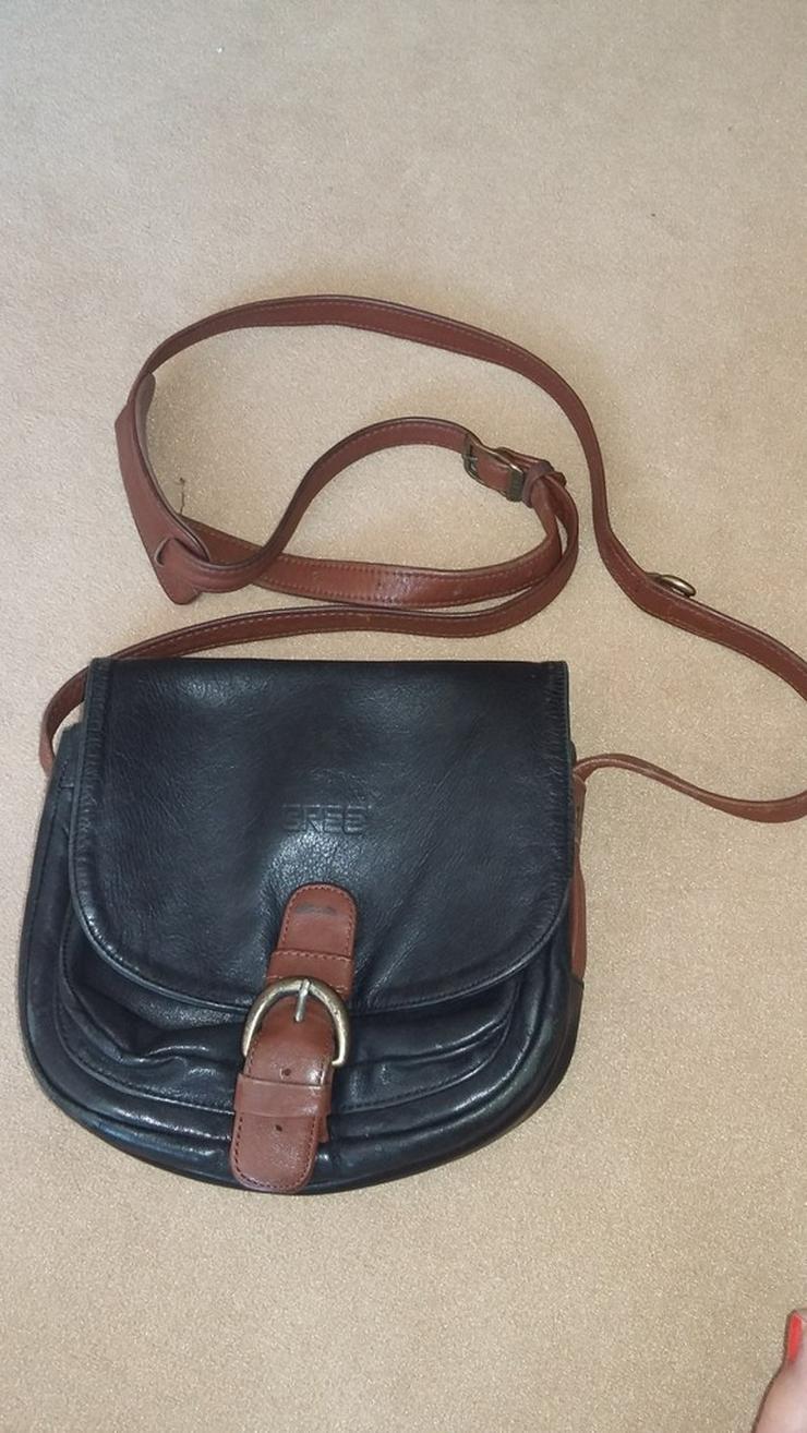 BREE Ledertasche Handtasche Umhängetasche