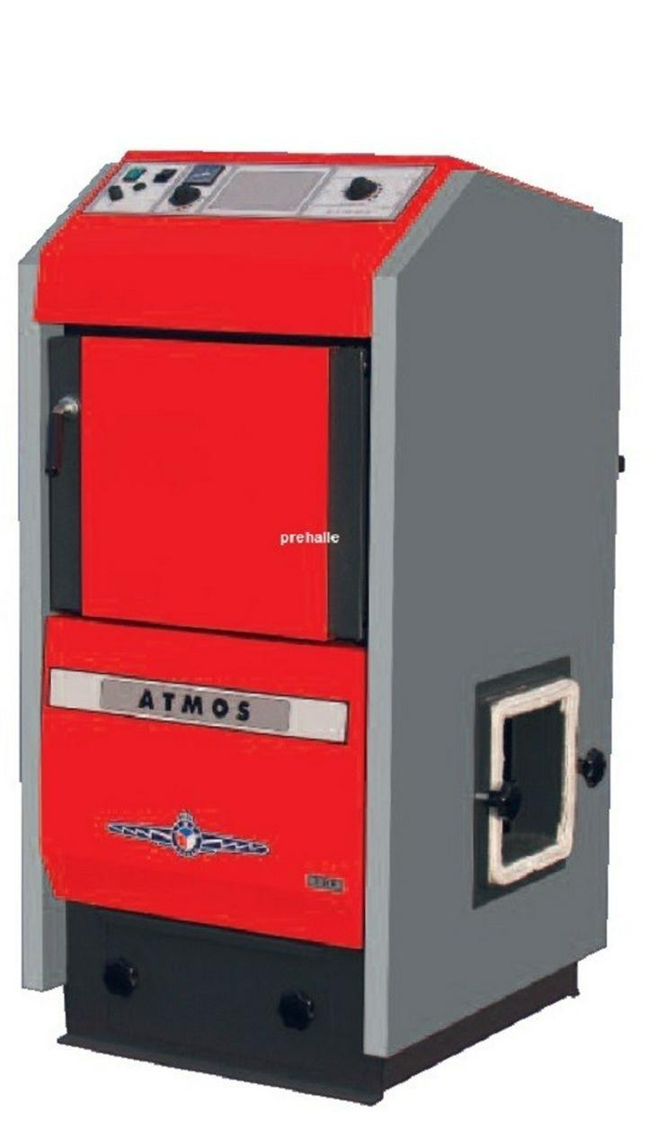 Atmos P21 Pelletkessel 4 - 19 KW mit Brenner. - Holz- & Pelletheizung - Bild 1