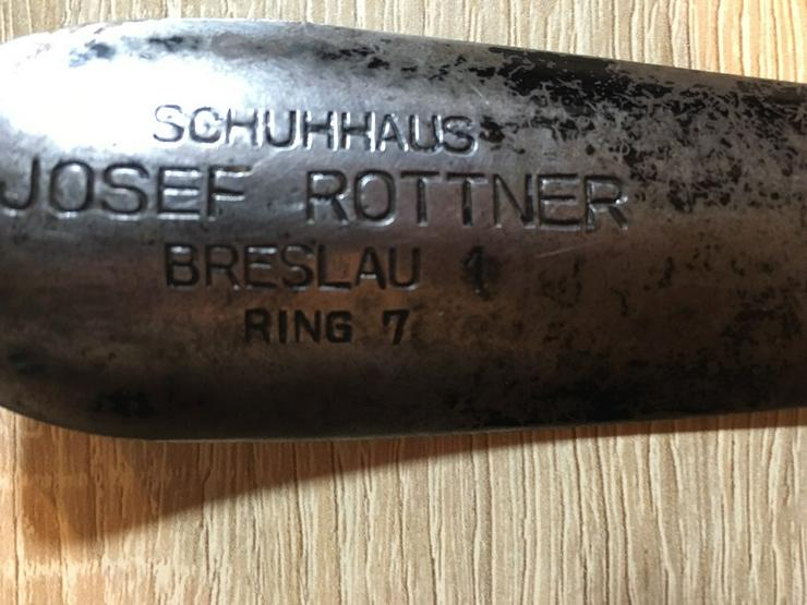 Bild 2: alte Schuhlöffel-Fam. Rottner