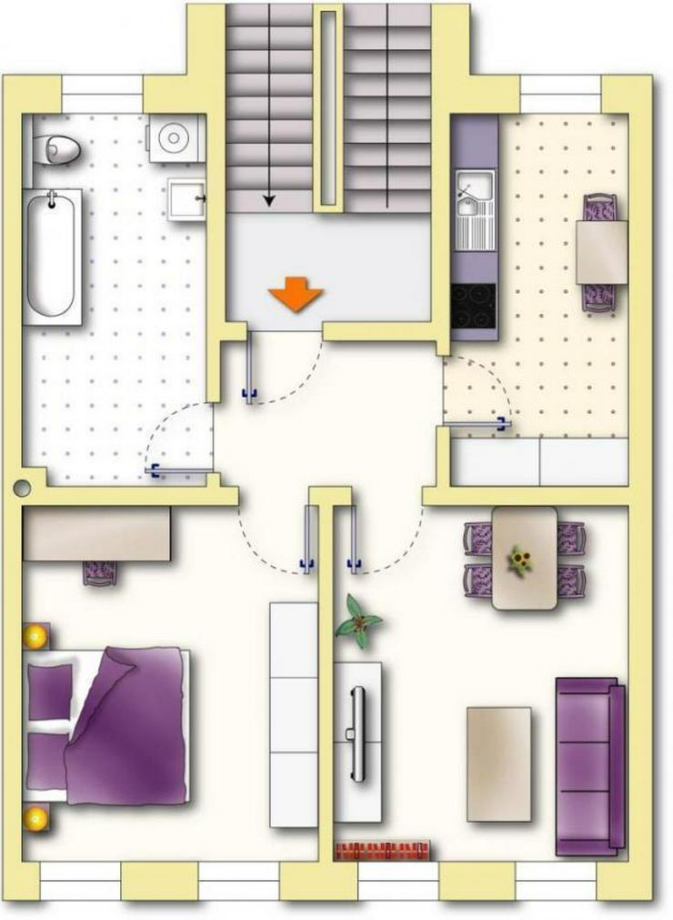 Schöne 2-Zimmerwohnung in toller Wohnlage - Bild 1
