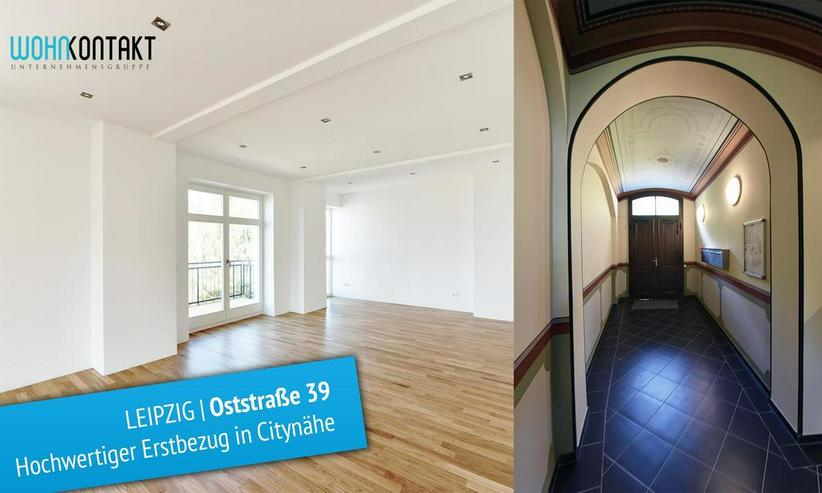 ERSTBEZUG nach hochwertiger Sanierung * 3 Zimmer * eigener Garten * Parkett/FB-Hzng. * u. ... - Wohnung mieten - Bild 1