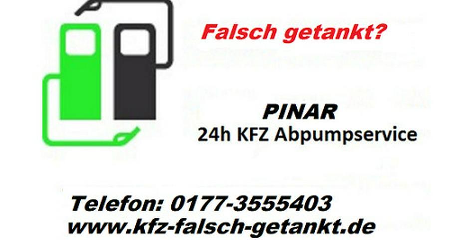 falsch tanken,24h Abpump-Service