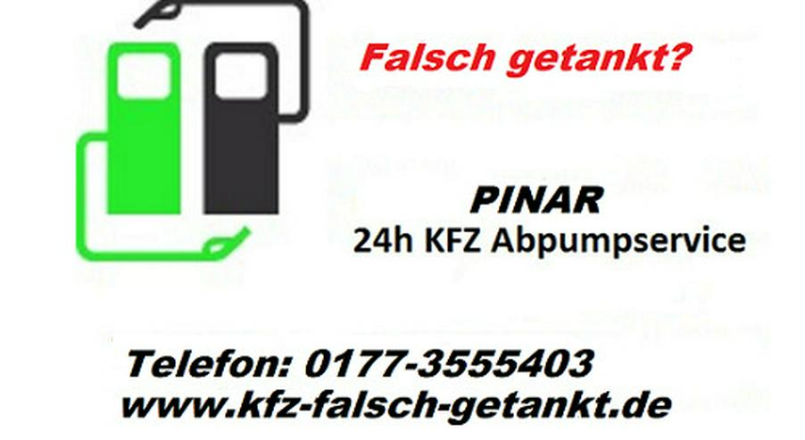 falsch tanken,24h Abpump-Service - Auto & Motorrad - Bild 1