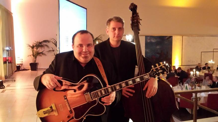 JazzDuo Gitarre & Kontrabass Livemusik
