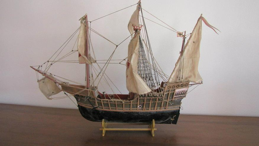 altes Segelschiff, Modell