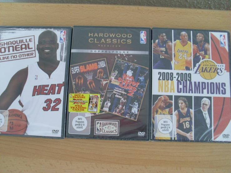 NBA DVDs NEU 3 Stück Shaquille O'Neal,NBA Cham - DVD & Blu-ray - Bild 1