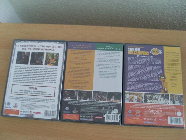 Bild 2: NBA DVDs NEU 3 Stück Shaquille O'Neal,NBA Cham