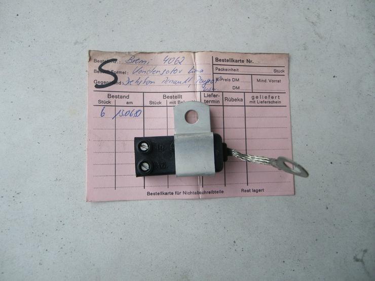 RENAULT PEUGEOT Kondensator Entstörfilter 4062