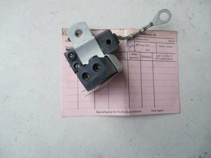 Bild 4: RENAULT PEUGEOT Kondensator Entstörfilter 4062
