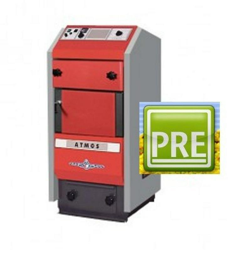 Atmos P15 Pelletkessel 4 - 15 KW Förderfähig L - Holz- & Pelletheizung - Bild 1