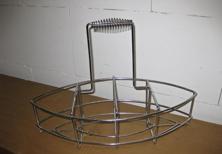 Neuwertiger Metallflaschenträger vercromt - Weitere - Bild 1