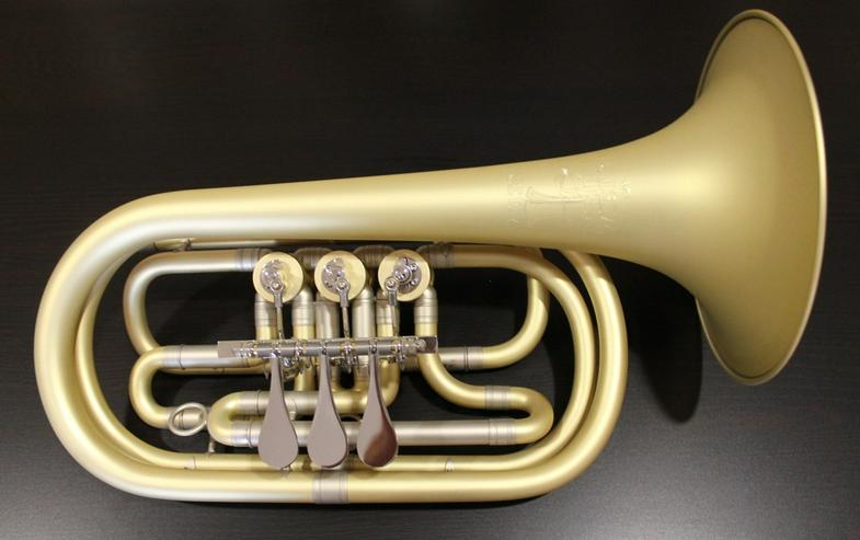 Melton 129 Elaboration Basstrompete in Bb - Blasinstrumente - Bild 1