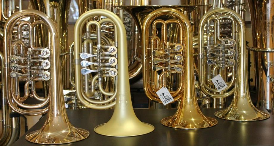 Basstrompete / Bass - Trompete Bass-Flügelhorn - Blasinstrumente - Bild 1