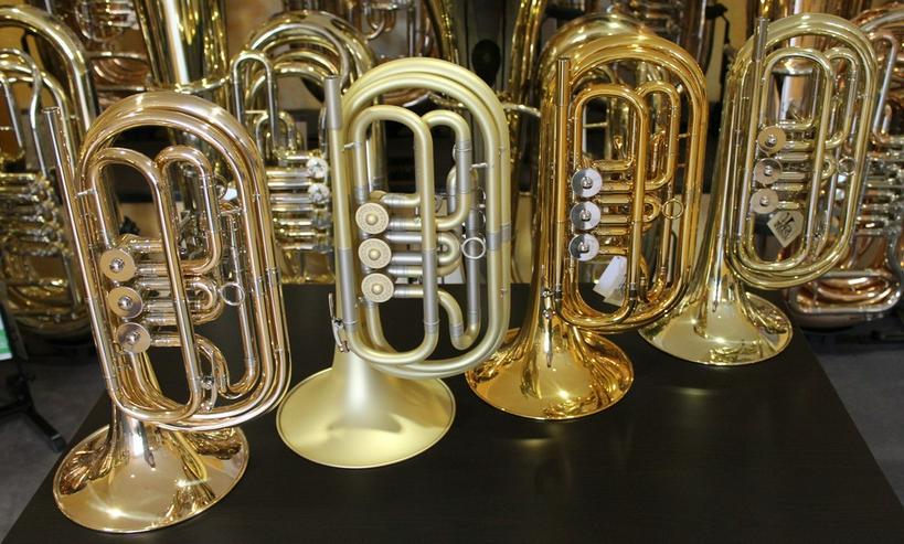 Bild 4: Basstrompete / Bass - Trompete Bass-Flügelhorn