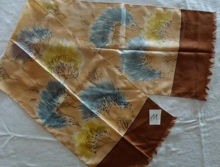 Langer Schal.Schönes Muster