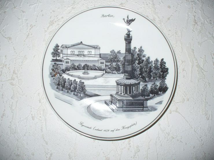 Bild 6: KPM Teller mit Berliner Motiven