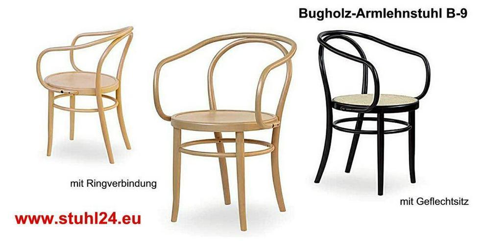 Bugholz-Armlehnstuhl B-9 - Stühle & Sitzbänke - Bild 1