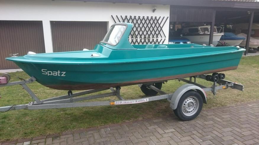 Motorboot Ibis 440x160cm Sportboot Angelboot