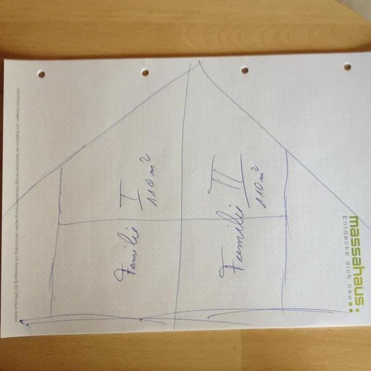 mit Eigenleistung sparen - 2 Familien - Haus kaufen - Bild 1