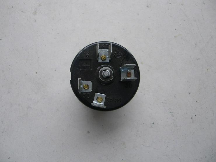 Bild 4: SIPEA Zündschloßschalter  TN 2836 C-AFF 116