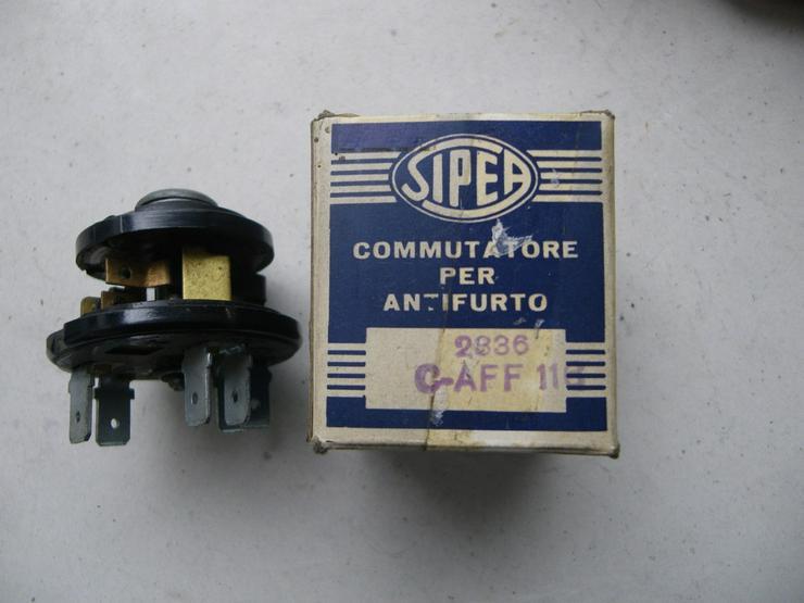 SIPEA Zündschloßschalter  TN 2836 C-AFF 116