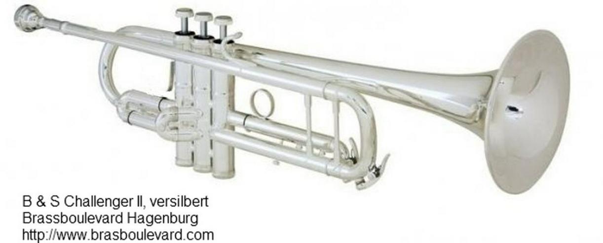 B & S Challenger II Profi - Trompete 3137/2-S - Blasinstrumente - Bild 1